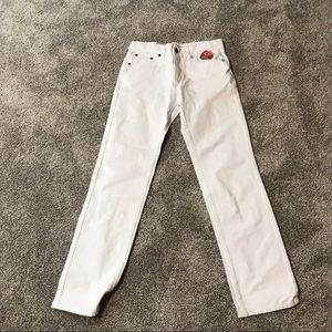 White Levi's Jeans 502 Tapered Fit NWT